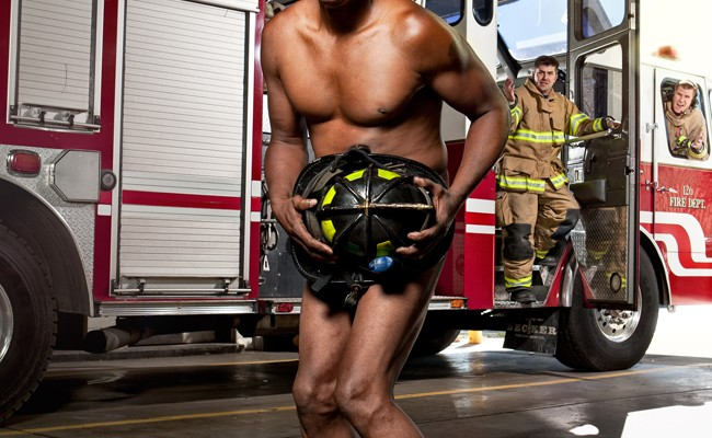 Each photo represented a specific category of individuals that would need supplemental insurance. This photo was for firefighters and EMS personnel