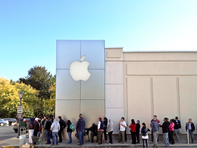 Line for Apple Products