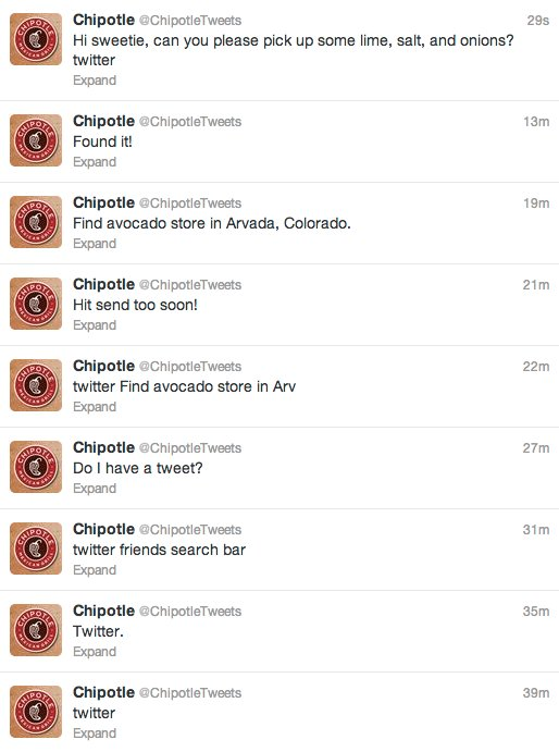 Social Media Transparency - Chipotle