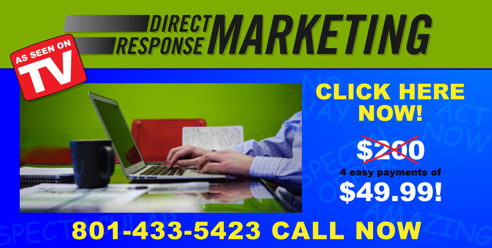 Direct Response Marketing: More Than JUST Infomercials